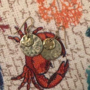 Premier sand dollar earrings